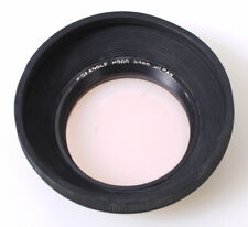 55mm Wide Angle Rubber Lens Hood w/Skylight 1A Filter