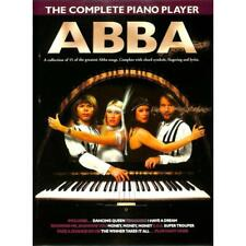 The Complete Piano Player: Abba. Für Klavier, Gesang & Gitarre - Songbook Noten