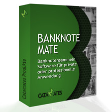 Banknoten Sammler Software - Software Programm für Sammler von Papiergeld