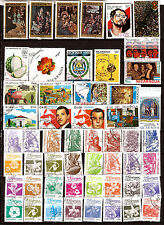 NICARAGUA 50 timbres oblitérés en bon etat, tous differents K50 /3