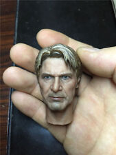 "1/6 Scale Han Solo Old Version Head Model Fit 12"" Male Action Figure Model Toy"