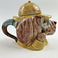 Vintage Fitz and Floyd Sherlock Holmes Creamer Collectible RARE