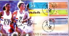 2002 Jeux du Commonwealth-Steven Scott officiel-signée par Steve CRAM