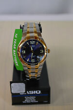 NEW Casio Men'S Edifice Quartz Two Tone Stainless Steel 100m Watch EF106SG-2A