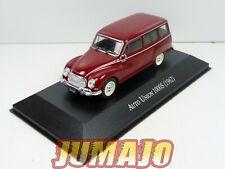 ARG49 Voiture 1/43 SALVAT Autos Inolvidables : AUTO UNION 1000 S break 1962