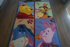 BRAND NEW DISNEY WINNIE THE POOH RUG CARPET 50X76 CM 100% NYLON MADE IN EGYPT