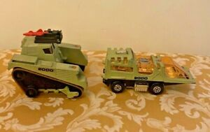 Matchbox No. K-2001 Raider Command Both Vehicles, near mint with Missiles!