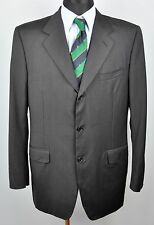 Italian CANALI Wool Blazer Pinstriped UK 42L Jacket Suit Eur 52L Gr Sakko Long