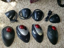 FOUR! Collection mice - Logitech Trackman Cordless Optical Mouse Fixable/parts