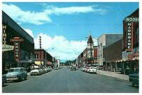 Lot 3 Vintage Yakima Ellensberg WA  Street Scenes Postcard