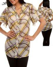 Short Sleeve Striped Petite Tops & Blouses for Women
