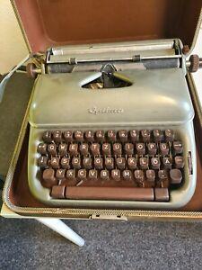 alte Reiseschreibmaschine Optima Elite 3 Schreibmaschine old vintage  im Koffer