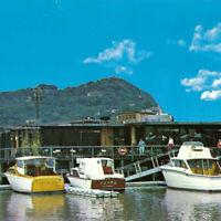 Vintage 1960s Dominc's Harbor Restaurant San Rafael Dominic Murphy Bay Boats