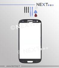 Samsung Galaxy S3 - S3 NEO i9300-i9301i  nero VETRO BIADESIVO + kit