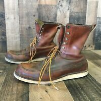 Red Wing 877 Moc Toe Boots Men's 12 c