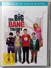 The Big Bang Theory - Komplette zweite Staffel - Staffel 2 auf 4 DVDs - Wie Neu!