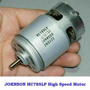 JOHNSON RS-775 Electric Motor DC 12V-18V 19000RPM High Speed Power L Torque (A)