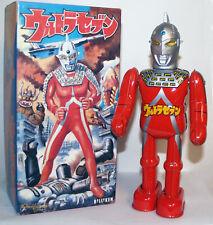 Billiken Tin Wind Up Japan Ultraman Ultraseven Tsuburaya Anime Robot