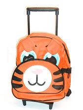 Kinder Trolley Koffer / Rucksack mit Rollen Ente Tiger Hund oder Krokodil NEU!!!