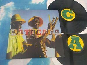 Various – Batucada: The Sound Of The Favelas : Mr Bongo – MRBLP UK DBL LP VINYL