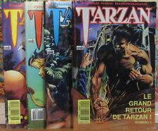Tarzan (8e Série - Semic) / Série Complète / 4 TOMES