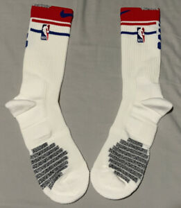 Nike Elite NBA Player Issued Thigh High Socks Red,White &Blue Size:XL