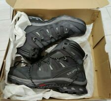 Salomon QUEST 4D 3 GTX Phantom Black Boots Walking Hiking Outdoor Size 12.5 NEW