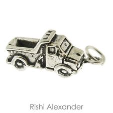 925 Sterling Silver Dump Truck Charm Made in America