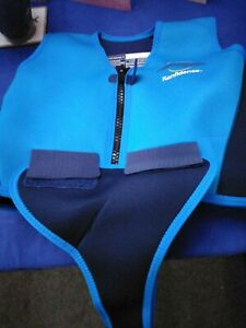 Konfidence Youth Swim Jacket - Blue/Navy 8-10 Years