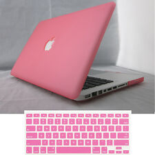 3in1 Frosted Matt Hard Case + Keyboard Cover for Macbook Air Pro 11 12 13 15 ''