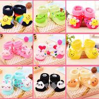 Newborn Socks 0-12month Baby Sock for Girl Sock Infant Sock Cotton Non-slip Shoe