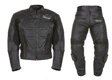 Tuta da per moto di pelle divisibile separabile in due pezzi giacca e pantalone