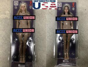 VERYCOOL 1/6 Female Head Blonde Brown Hair + Female Body 3.0 FX09 A B Set U.S.A.