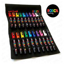 Uni Posca PC-5M & PC-3M Peinture Marqueur Stylos-Essential Set de 20 in (environ 50.80 cm) toile Wrap