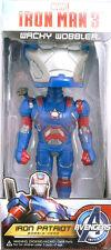 Wacky Wobbler Iron Man 3 Patriot figure Funko 031255