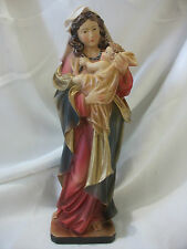 Maria mit Kind, Madonna mit Kind, Figur, Polyresin, 20 cm