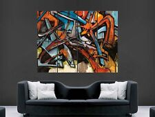 GRAFFITI GIANT WALL POSTER ART PICTURE PRINT LARGE  HUGE