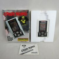 LCD CRAZY KONG JUNK Not Working Game Watch Hand Held Console System JAPAN 3043