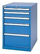 LISTA XSMP0750-0505 - MP750 5-Drawer Bench Height Storage Cabinet