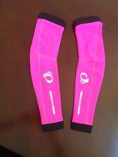 Pearl Izumi arm warmers, Hot Pink, XS