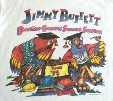Vtg Authentic Jimmy Buffett Domino College Summer Session Tour '95 M's Xl Tshirt