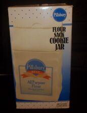 VINTAGE Benjamin Medwin Pillsbury All Purpose Flour Sack Cookie Jar NEW IN BOX