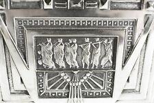 JUGENDSTIL Art Nouveau Kassette ° versilbertes Metall ° Schmuckkassette WMF (Z)