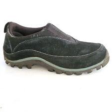 Salomon Contagrip Women's 8 Hiking Shoes Slip On Moccasin Low Top Black Sneakers
