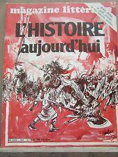 Magazine Littéraire N°164, Septembre 1980: L'Histoire aujourd'hui, Ariès, Duby