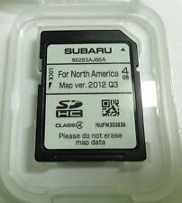 OEM 2013 2014 Subaru Outback / Legacy Harman Navigation SD Card Map U.S / Canada
