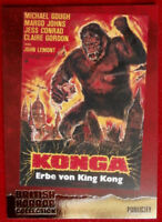 BRITISH HORROR - FOIL Card F11 - PAUL STOCKMAN - KONGA!