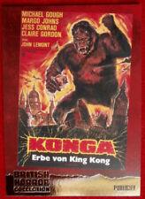 BRITISH HORROR COLLECTION - PAUL STOCKMAN - KONGA! - FOIL Card F11