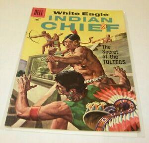 DELL Western Vol1 #27 1957 Vintage Comic Book INDIAN CHIEF TOLTECS WHITE EAGLE