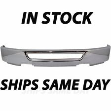 New Chrome - Front Bumper Cover Face Bar For 2006 2007 2008 Ford F150 W/out Fog